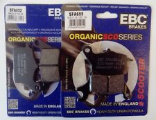 Yamaha MW125 Tricity (2014 to 2016) EBC FRONT Brake Pads (SFA652/SFA655) 2 Sets