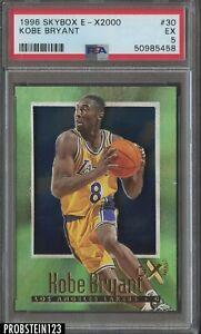 1996 Skybox E-X2000 #30 Kobe Bryant Lakers RC Rookie HOF PSA 5 EX