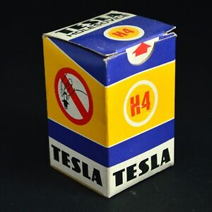 Tesla Holesovice H4 T2 E8 12v 60/55w P43t Halogen Car Headlight Headlamp Bulb