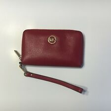 Micheal Kors Leather Wallet & Phone Case | Wristlet | MK | Micheal Kors