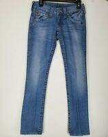 True Religion Section Billy Womens Bootcut Denim Jeans size W26xL31 Stone Wash