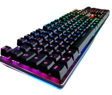 Aukey Gaming Tastatur Keyboard Mechanisch Farbwechsel RGB Backlight LED USB