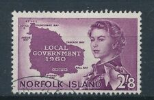 [56111] Norfolk Island 1960 good Used Very Fine stamp