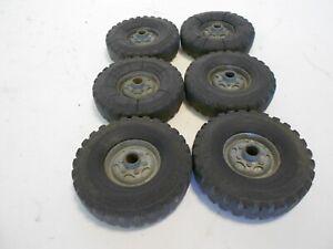 "6 Wyandotte Tires/Wheels, 2.5"" Diameter"
