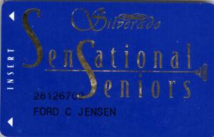 Silverado Casino - Sensational Seniors - Slot Card