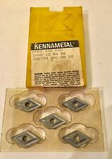 Kennametal Carbide Inserts -  DNMP 432 DNMP 15 04 08 K45 - Qty. 5 - NEW