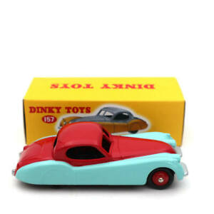 DeAgostini 1/43 Dinky toys 157 Jaguar XK120 Coupe Diecast Models Collection