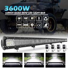 44 inch 3600W LED Light Bar Car Spot Flood Combo Offroad 4x4WD Fog Lamp UTE Boat