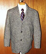 "PARK HOUSE Moessmer Tweed ""Texas"" 3 Btn Sportcoat Blazer Jacket Mens 38 S Italy"