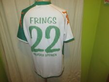 "Werder Bremen Kappa Heim Trikot 2006/07 ""we win!"" + Nr.22 Frings Gr.XL- XXL TOP"