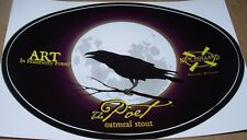 NEW HOLLAND BREWING THE POET Oval Logo STICKER craft beer brewery dragons milk