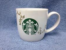 Starbucks Holiday Collection 2013 Siren Mermaid Coffee Cup Gold Snowflakes/Bonus