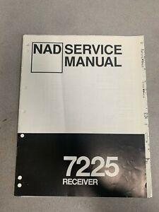 NAD 7225 Service Manual