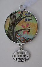 x You are in my thoughts and prayers TREE OF LIFE ORNAMENT Car charm ganz