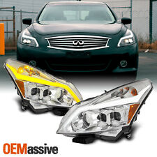 "Fits 10-13 G37/G25/Q40 Sedan ""Switchback"" LED Turn Signal Projector Headlights"