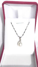 Best Selling Freshwater Pearl Gift Set with Pendant Necklace(&box)