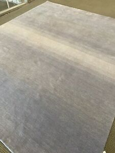 Large Modern Spectacular Hand Made Area Rug Gabbeh New Nomadic Gray 10' X 14'
