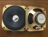 """2pcs 4"""" inch 102mm 4Ohm 4Ω 3W speakers Loudspeaker For Tricycle Audio"""
