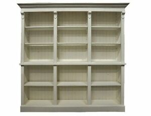 Bibliothek,handgefertigt, massiv Holz, Ladeneinrichtung. Bücherregal, Landhaus