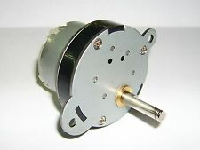 Transmisión Motor eléctrico 12v 3 RPM / para la construcción del modelo etc