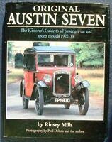 ORIGINAL AUSTIN SEVEN RESTORERS GUIDE MODELS 1922-39