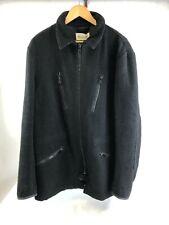 MAISON MARGIELA Men's Fleece Black Zipped Coat, SIZE 50/UK18, RRP £990