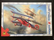Fokker DR I 1000 piece Puzzle Trefl planes war 10062 bi-planes dog fight Poland