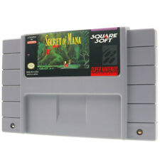 Secret of Mana Super Nintendo SNES us NTSC juego impecable