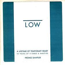 LOW Box Set Sampler 2004 US 10-trk promo CD stickered card sleeve