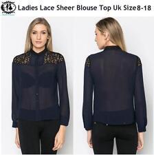 Button Down Collar Classic Blouse Plus Size for Women