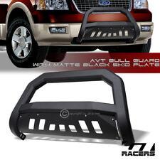 For 2004 2020 Ford F150 Matte Black Avt Edge Bull Bar Brush Push Bumper Guard