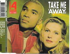 TWENTY 4 SEVEN - Take me away CDM 4TR Eurodance 1994 (INDISC) Benelux