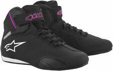 Alpinestars Women's Stella SEKTOR Street Riding Shoes (Black/Pink) 7