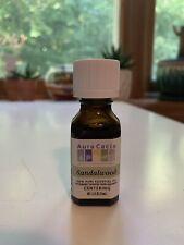 Aura Cacia 100% Pure Sandalwood Centering Essential Oil  0.5 oz (15mL)