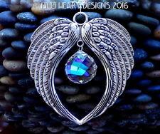 Angel Wings m/w Swarovski Aurora Mozart Suncatcher Car Charm Lilli Heart Designs