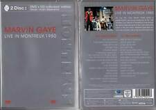 "MARVIN GAYE ""Live In Montreux 1980"" (DVD (Zone 1) + CD) 2003 NEUF"