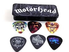 Motorhead Guitar Picks  Album Art  Pick Tin  6 picks  .73mm  from Dunlop