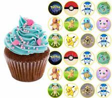 Pokemon Go Pikatchu Essbar Muffinaufleger Tortenbild Party Deko neu Zubehör dvd