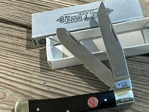 BOKER Hunter Trapper knife- mint in box- smooth Bone
