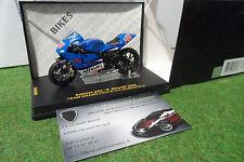 MOTO SUZUKI GSV-R MotoGP 2004 #10 K. Roberts Jr au 1/24 IXO RAB090 miniature