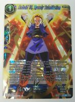 Android 18, Speedy Substitution - Dragon Ball Super CCG NM/M BT8-033 SR