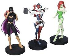 DC Comics Eaglemoss Batgirl HarleyQuinn Poison Ivy Metal figure Box set, batman