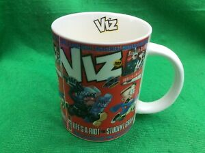 Viz Student Grant  Official Coffee Tea Mug Cup By Fulchester Industries Unused