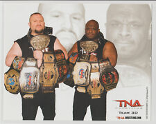 The Dudley Boys Team 3D Bubba Ray Officially Licensed TNA Wrestling Promo Photo