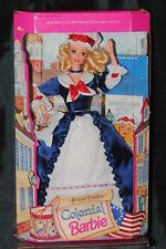 Colonial barbie american stories collection special edition doll de mattel nrfb