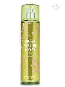 Bath and Body Works TOASTED PRALINE & PEAR Fine Fragrance Mist ~ 8 fl.oz.