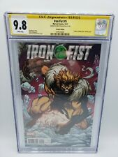IRON FIST #5  NM  JIM LEE X-MEN TRADING CARD VARIANT SS MIKE PERKINS CGC 9.8