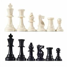 """Heavy Tournament Triple Weighted Chess Pieces with 3 3/4"""" King"""