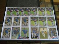 CHICAGO CUBS NICO HOERNER RC LOT X19 CARDS TOPPS BOWMAN CHROME BOWMAN NICE LOT!