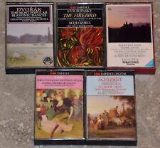 Lot 5 Cassettes Audio Musique Classique - K7